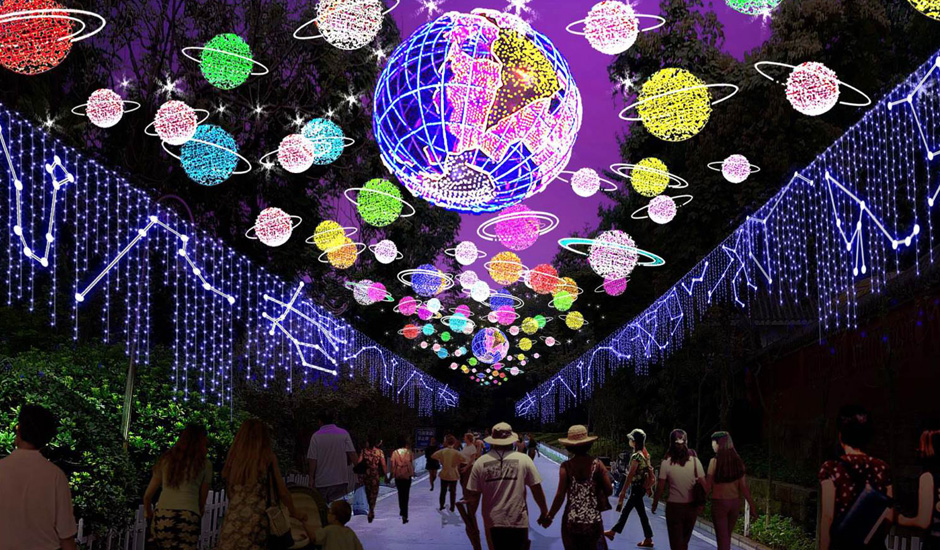 UK Art Lantern Festival lights up for Rainbow Trust