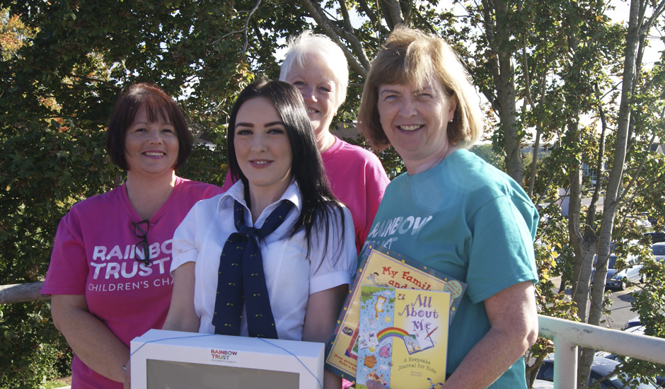 Epsom branch of Leeds Building Society present 'Memory Boxes'