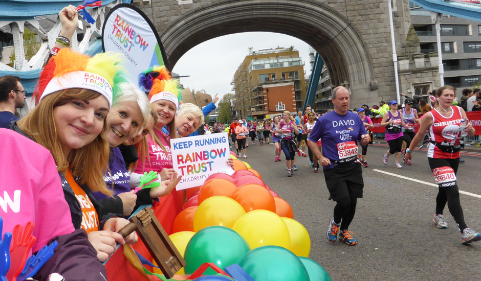 London Marathon: our heartfelt thanks and congratulations