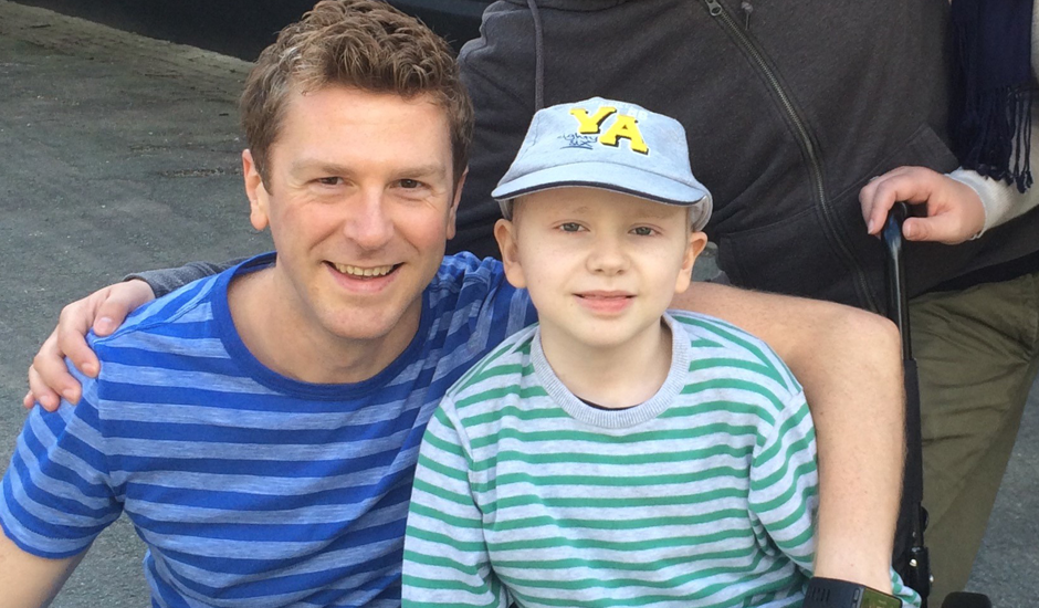 "Stockport man running marathon for Rainbow Trust, the ""real life guardian angel"" helping his nephew"