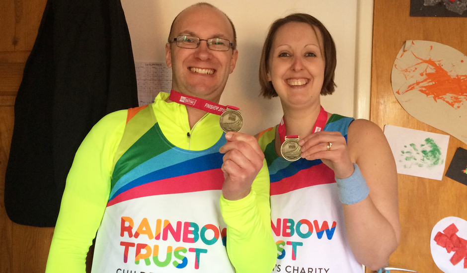 Why I'm taking on a half marathon for Rainbow Trust
