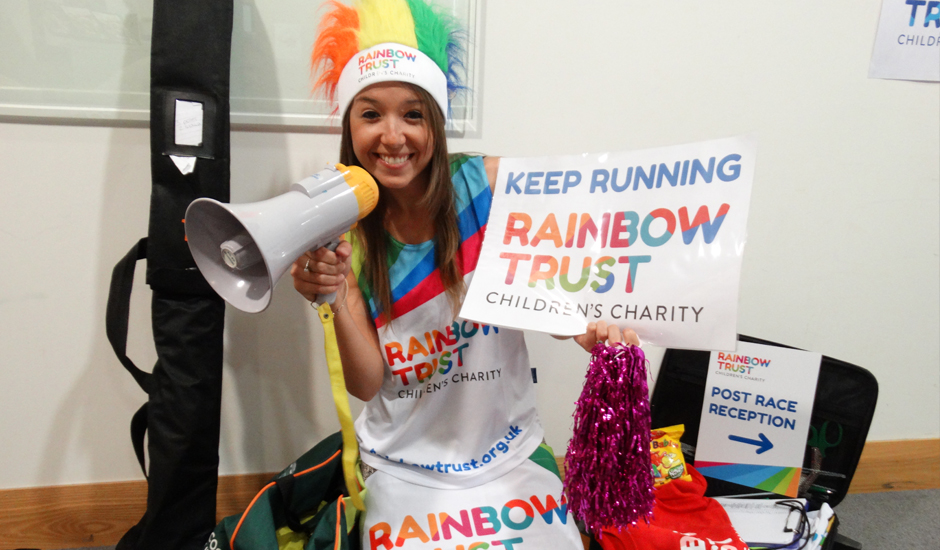 Rainbow Trust nominated for Runners' Favourite Charity Award