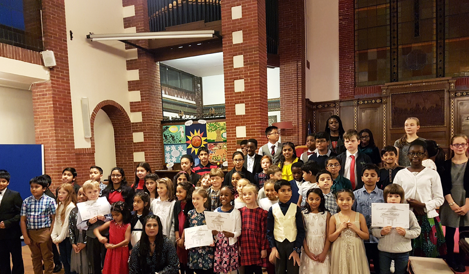 Carshalton piano students help raise more than £2,000
