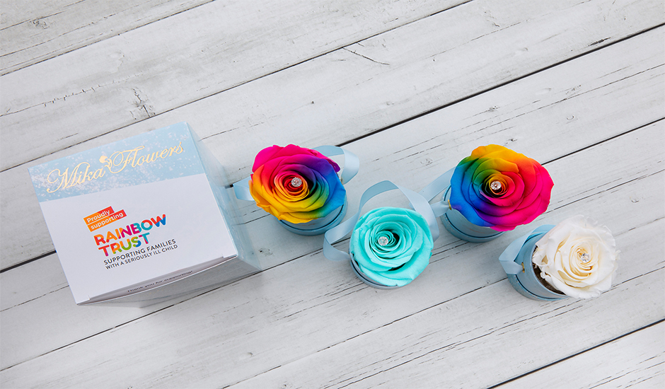 Mika Flowers partners with Rainbow Trust Children's Charity to provide gift for loved ones