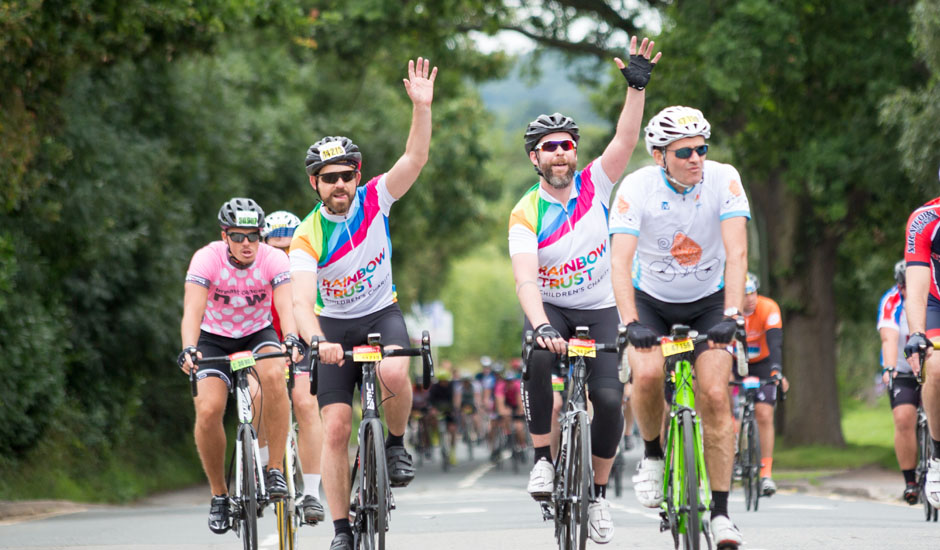 RideLondon cyclists ride to victory raising £42,000