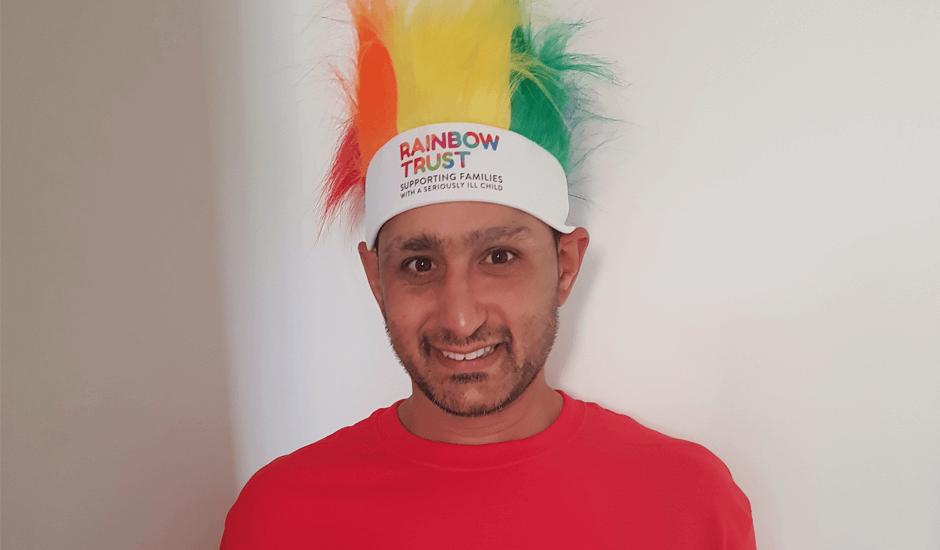 Meet Simon, a Dad raising money to thank Rainbow Trust
