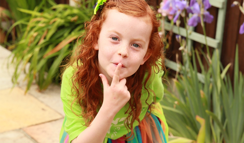 Six-year-old's sponsored silence is golden