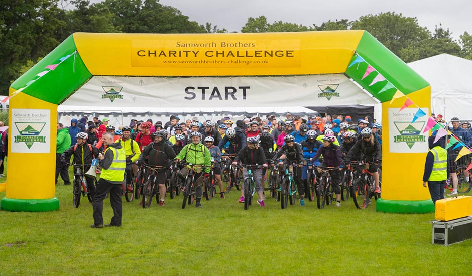 West Cornwall Pasty Co take on the Samworth Brother's Charity Challenge