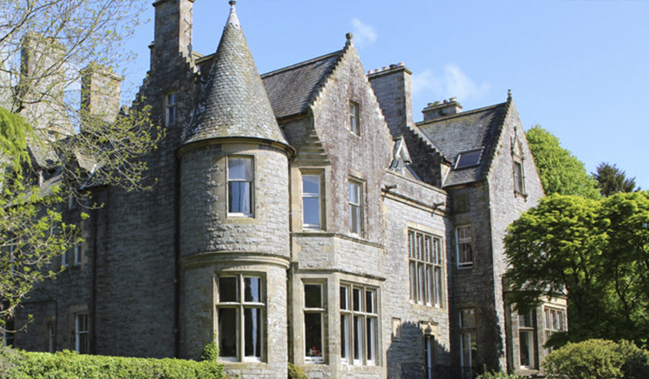 Scottish castle up for grabs in a competition to raise funds for Rainbow Trust