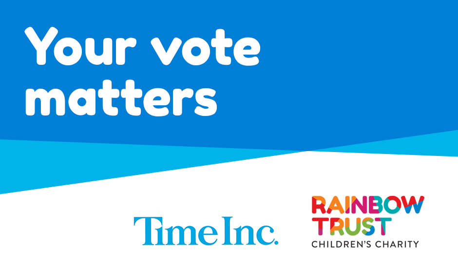 Time Inc. Your vote matters