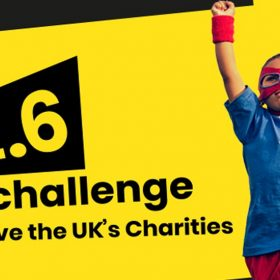Take part in the #TwoPointSixChallenge for Rainbow Trust