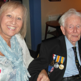 Albert Bennett, Burma Star - RAF 155 Spitfire Squadron and long term supporter turns 100