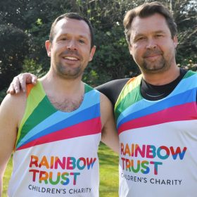Local brothers from Surrey are running the Royal Parks Half Marathon