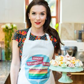 Candice Brown, Great British Bake Off winner 2016, supports our Great Rainbow Bake