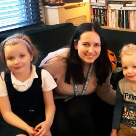 Family Support Worker brings joy to family caring for a seriously ill child