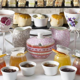 Hush Gin & Jam Afternoon Tea supports Rainbow Trust