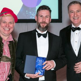 Inspirational Cubitt & West dad supported by Rainbow Trust wins Fundraising Champion Award