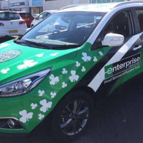Enterprise Rent-A-Car Drives Rainbow Trust to Gumball