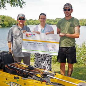 London International Kayak Fishing Festival raises £1,000