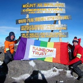 David conquers Kili and raises an incredible £5,404