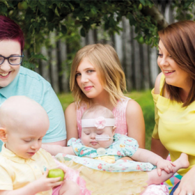 Family Support Worker Mandy gives family time to focus on each of their children