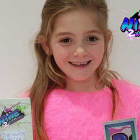 Entrepreneurial seven year old supports seriously ill children