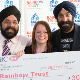 SACA Charity Bike Ride raises £30,000