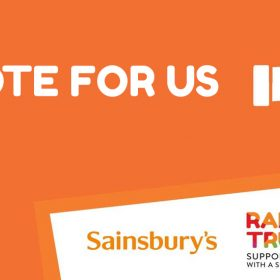 Help us win Sainsbury's local charity of the year