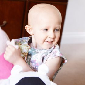 Shining a light on childhood cancer