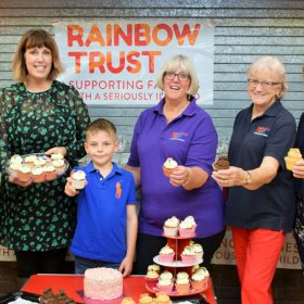 Rainbow Trust Children's Charity celebrate new Totton Care Team office