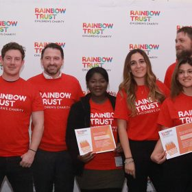 Why I would encourage other companies to partner with Rainbow Trust