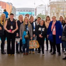 George Michael tribute charity walkers raise over £9,000 for families