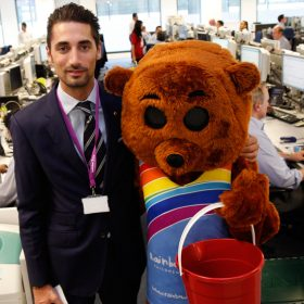 Hugo Taylor becomes ambassador for Rainbow Trust