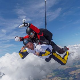 What do wine tasting and sky diving have in common?