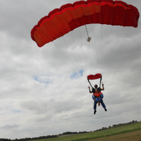 Fundraisers in York skydive for charity