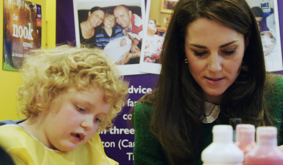 Rainbow Trust welcomes HRH The Duchess of Cambridge's video message marking Children's Hospice Week