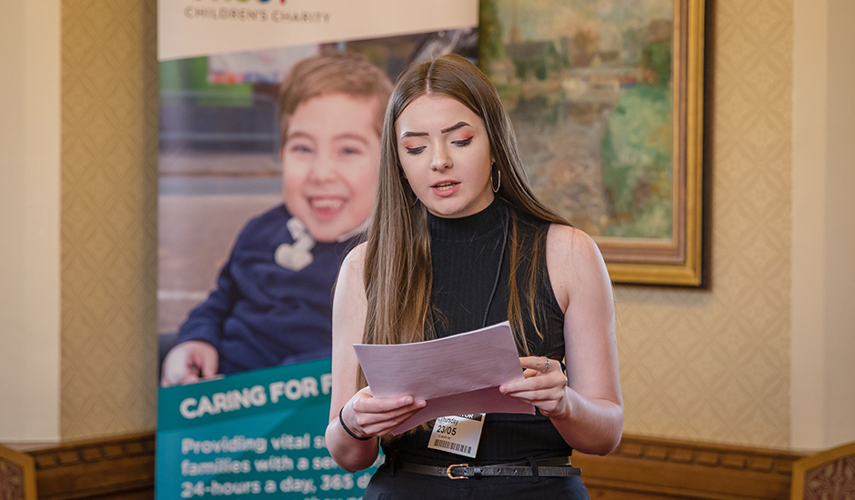 Teen calls on Government to offer more support to young people with disabled siblings