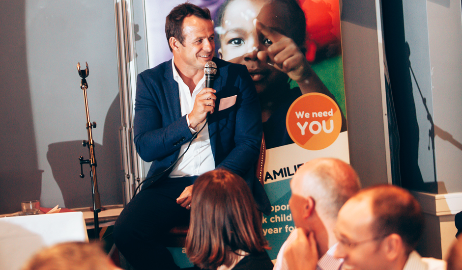 Austin Healey hosts Inside the Rugby World Cup evening raising £17,000