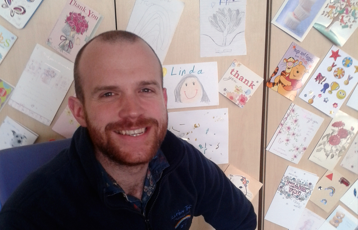 Meet Sean, our Family Support Worker, who featured on BBC Children in Need
