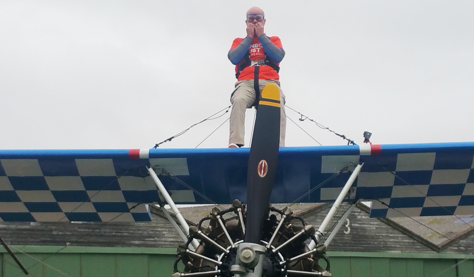 North East volunteer takes to the skies