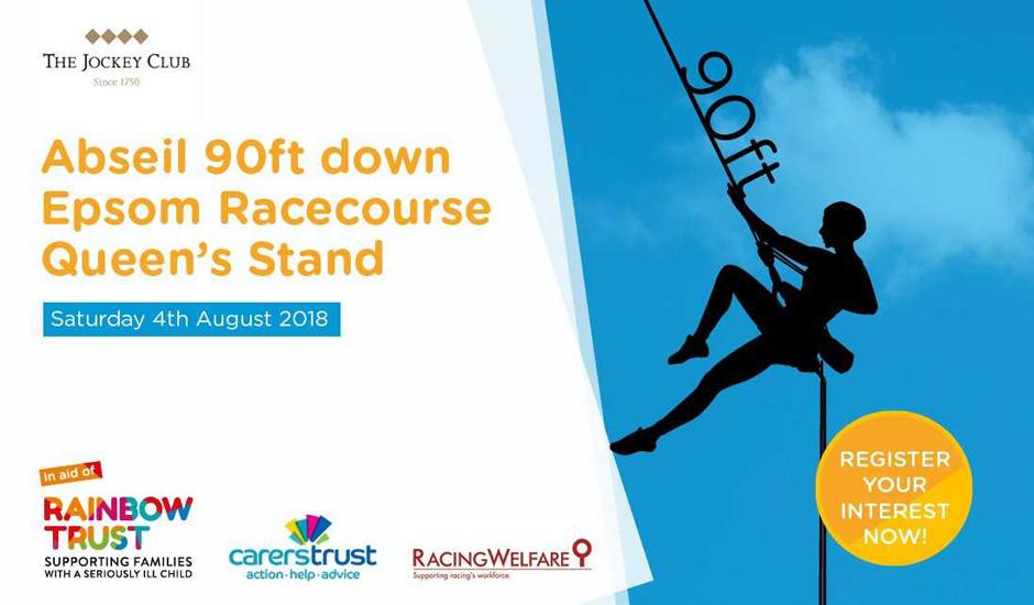 Epsom Downs Racecourse Abseil