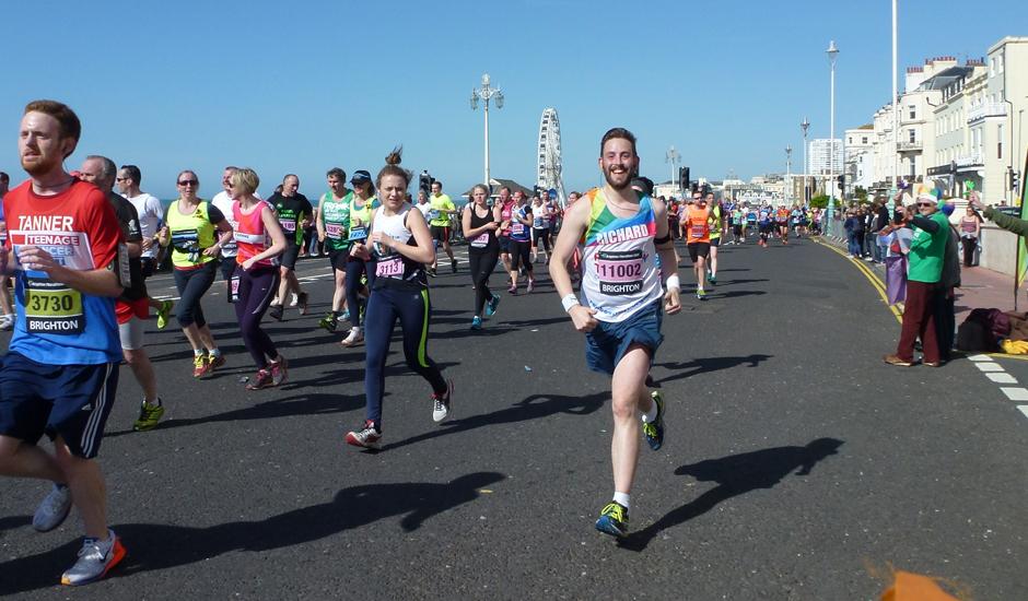 Brighton Marathon 16