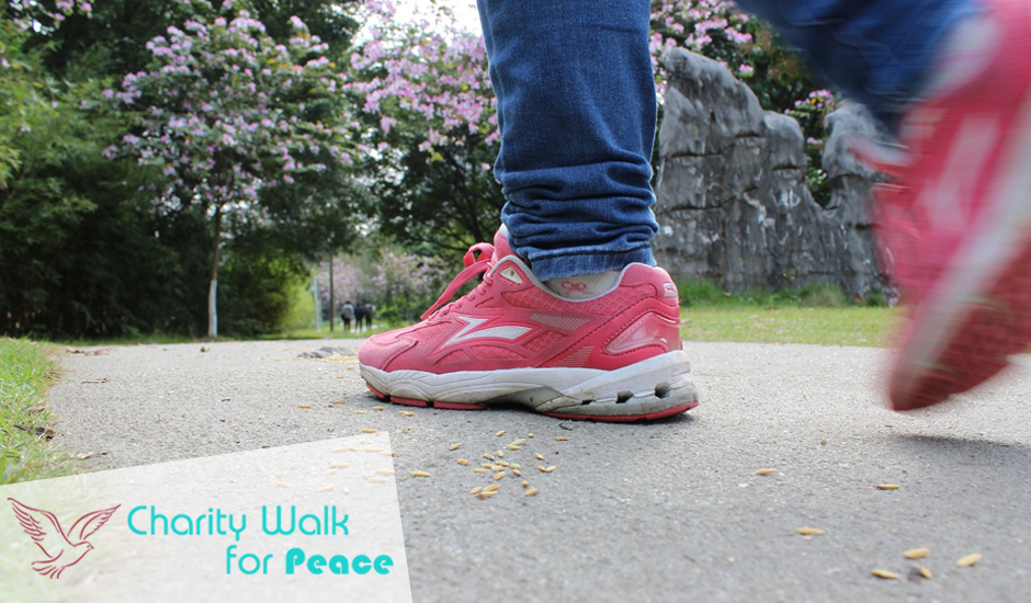 A Charity Walk for Peace