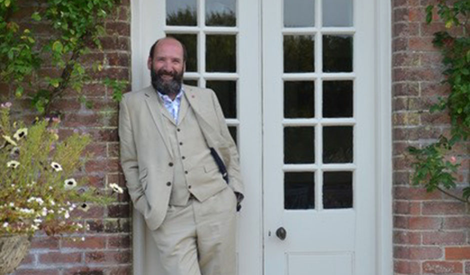An afternoon with Gerald Dickens at Nunwell House