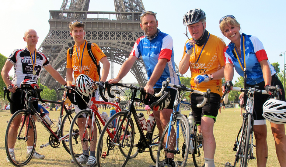 London to Paris Bike Ride - Tour de France Finale