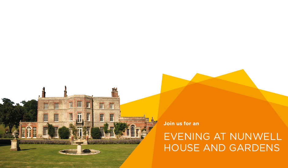 An evening with Gerald Dickens at Nunwell House