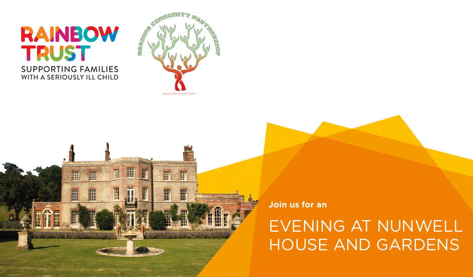 Evening at Nunwell House and Gardens