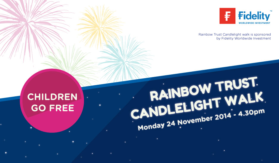 Rainbow Trust Candlelight Walk