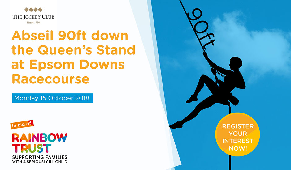 Epsom Downs Racecourse Abseil