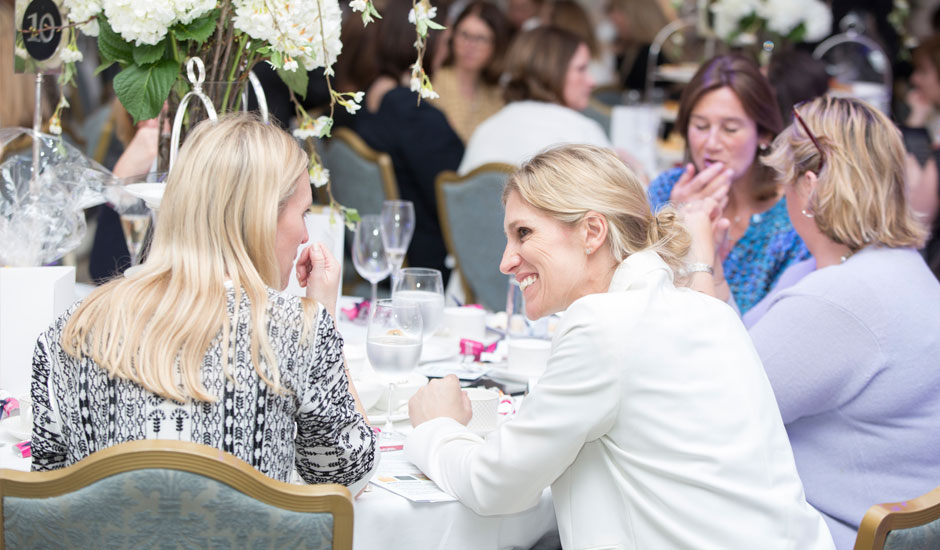 Lunch with Liz Earle and Mary Nightingale